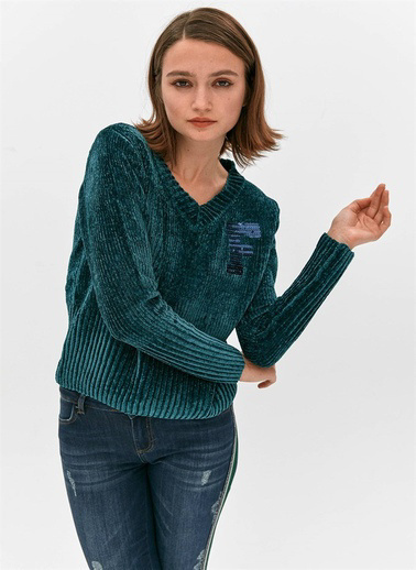 Fracomina Sweatshirt Yeşil